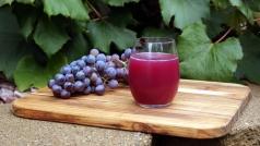 Виноград Чорный Принц сок