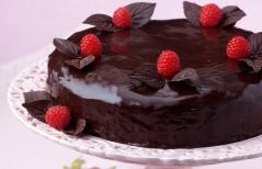 Малина Глен Эмпл часто используется для украшение десертов